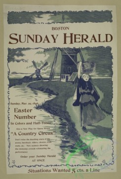 vintage_posters-00641 - 020-Boston Sunday herald, Sunday Mar, 29, 1896