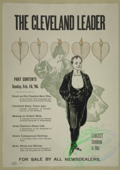 vintage_posters-00652 - 031-The Cleveland leader, Sunday, Feb,16, '96