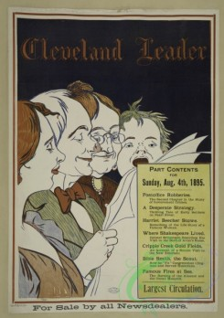 vintage_posters-00656 - 035-Cleveland leader, Sunday, Aug, 4th, 1895