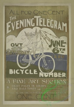 vintage_posters-00657 - 036-The evening telegram, Saturday June 6th 1896