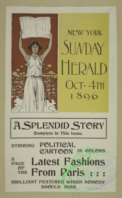 vintage_posters-00660 - 039-New York Sunday herald, Oct 4th 1896