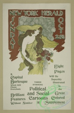 vintage_posters-00668 - 047-New York Sunday herald, Oct 25th
