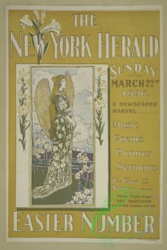 vintage_posters-00671 - 050-The New York herald, Sunday March 22nd 1896