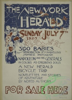 vintage_posters-00672 - 051-The New York herald, Sunday July 7th 1895