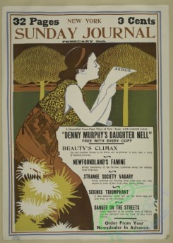 vintage_posters-00684 - 063-New York Sunday journal, February 2nd, 1896