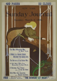 vintage_posters-00688 - 067-New York Sunday journal, Sunday, March 8th, 1896