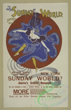 vintage_posters-00708 - 090-The New York Sunday world, Sunday Dec 8th, 1895