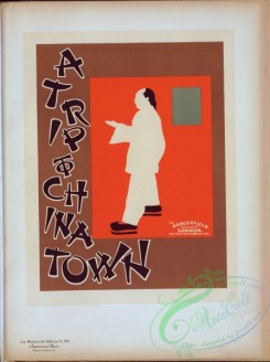 vintage_posters-00780 - 061-Affiche anglaise ''A trip to china town'', (Excursion dans une ville chinoise,)