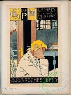 vintage_posters-00885 - 170-Affiche americaine pour la librairie ''The Old Book Man''