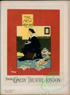 vintage_posters-00888 - 173-Affiche anglaise pour le Comedy Theatre, ''The New Woman''