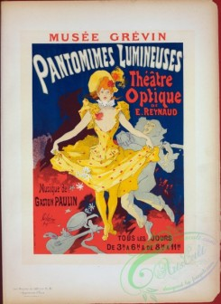 vintage_posters-00909 - 194-Affiche pour le Musee Grevin, ''Pantomimes lumineuses''