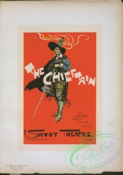 vintage_posters-00916 - 201-Affiche anglaise pour Savoy Theatre, ''The Chieftain''