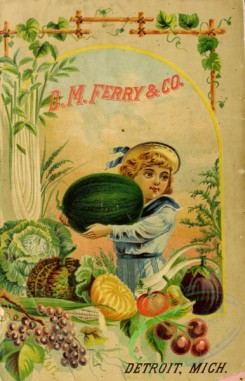 watermelon-00029 - 096-Girl with Watermelon, Fruits, Frame, vegetables